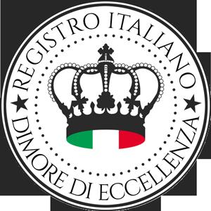 Logo Registro Italiano delle Dimore Storiche di Eccellenza